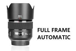 Full frame automatic lens